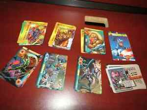 Lot of Marvel and DC Overpower cards