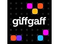 FREE giffgaff SIM Card with £10 Bonus Credit* - Fast Delivery (Collection Available)