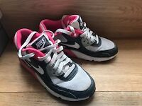Nike Air Max 90 mesh (GS) running trainers sneakers 833340 001. NEARLY NEW uk 3 eu 35.5 us 3.5 Y