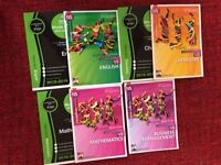 SQA Nat5 Model Papers/ Past papers and Bright Red Study Guides for Maths English Chemistry Business