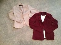 Ladies jackets Size 8 & 10 Excellent condition