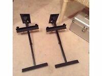 pair of heavy duty speaker brackets