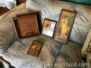 Wood Trays And Decoupage A