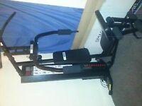60kg Pro fitness multi gym (next to brand new)