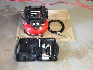 6 Gal/150 PSI Porter Cable Air Compressor 18 Guage Nailer Combo