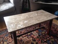 Wonderful pink MARBLE SLAB as worktop or table