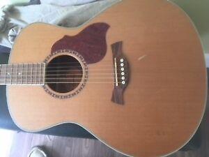acoustic guitar Crafter GA7