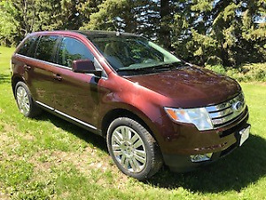LOADED FORD EDGE READY FOR SUMMER VACATION