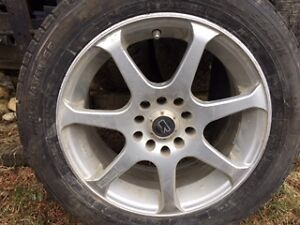 Multi fit rims with Summer Tires