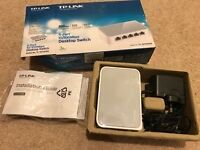 TP-Link 5-port Desktop switch - New and unused