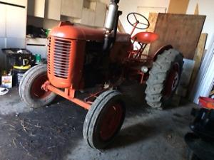 2 CASE VA tractors