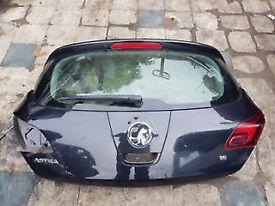 Vauxhall Astra MK6 J 2012 1.6 5 Door Hatch BOOT LID BLACK