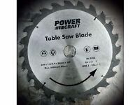 Power craft saw blade. 250 mm diameter.