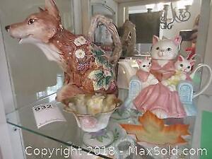 Tea Pots and More. A