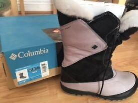 Women's Winter Boots - Columbia Omni-Heat UK7 NEW