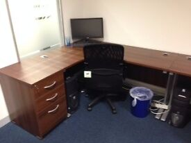 Walnut Office Furniture for sale