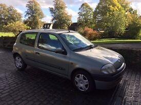 Renault Clio MTV, year 2000
