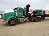 2008 peterbilt with 2015 picker and trailer, heavy spec.