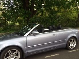 Low mileage audi convertible