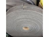 INSULATION FOAM ROLL 50M x 100mm x 8/10mm. BLUE OR GREY