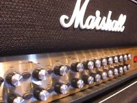 MARSHALL HEAD AVT-150 MINT,TUBE PREAMP,150 WATTS