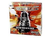 BRAND NEW / SEALED - DOCTOR WHO AND THE DALEK BOARD GAME [ AMAZON PRICE £13.00]