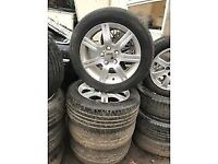 SEAT LEON 16 INCH ALLOY WHEELS 205/55R16