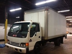 2004 GMC Commercial Box Truck W 5500