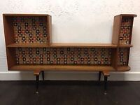 Vintage Cabinet Orla Kiely Design Mid-century side-board