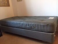 Good quality single bed and mattress