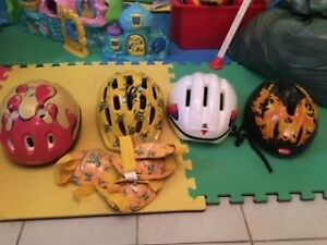 Children bike helmets