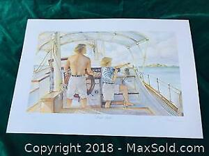Trisha Romance First Mate 346/2000 Signed Numbered Limited Edition