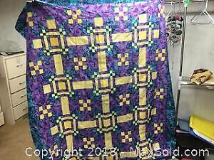 Partially Completed Quilts Plus C