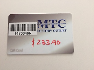 MTC Factory Outlet-  Gift certificate TVs, Appliances and Gaming