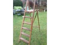*BRIDE TO BE?* LOVELY VINTAGE STEPLADDERS FOR DISPLAY