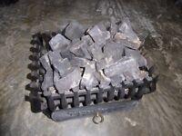Fire basket, cast iron