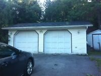 Garage space for rent, good for storage