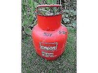 EMPTY CALOR GAS BOTTLE ** 3.9KG - CLACTON ON SEA - CO15 6AJ
