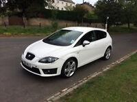 Seat Leon FR Plus CR TDI 2011 white