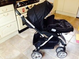 Complete baby travel system