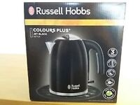 Russell Hobbs Colours + Black Kettle - Brand new/boxed