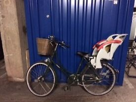 Iconic Pashley Princess for sale with optional child seat!