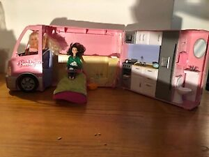Beautiful Barbie Camper