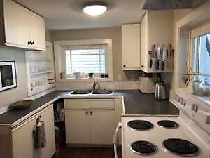 Sublet Furnished Room in Dunbar Basement Suite May 1st-July 31st
