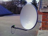 Satellite dish antenna complete set 1000 free air channels
