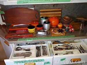 Retro Kitchen Items, Cutlery And Kitchen Utensils