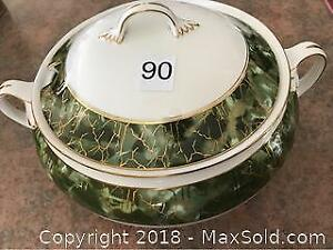Large Aynsley Covered Soup Tureen