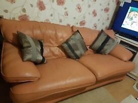Dining table and two seater sofa perfect condition