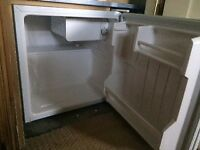 small size counter top fridge