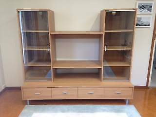 Wall Entertainment Unit | Cabinets | Gumtree Australia North ...